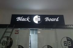 лайтбокс вывеска black board