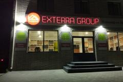 объемные буквы exterra group 2