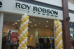 объемные буквы roy robson