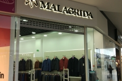 объемные буквы malagrida