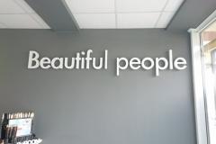 объемные буквы beautiful people