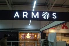 объемные буквы armos