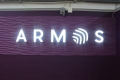 объемные буквы armos 2